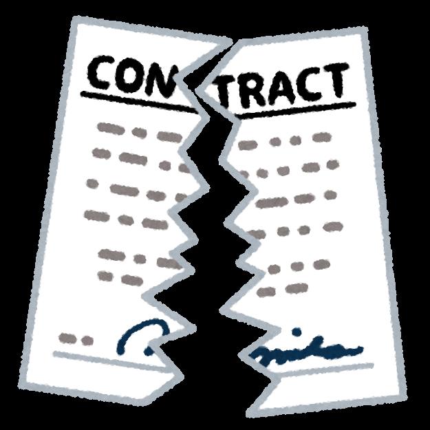 定期購入の契約を破棄